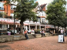 Royal Tunbridge Wells, The Pantiles, Kent © Paul Gillett